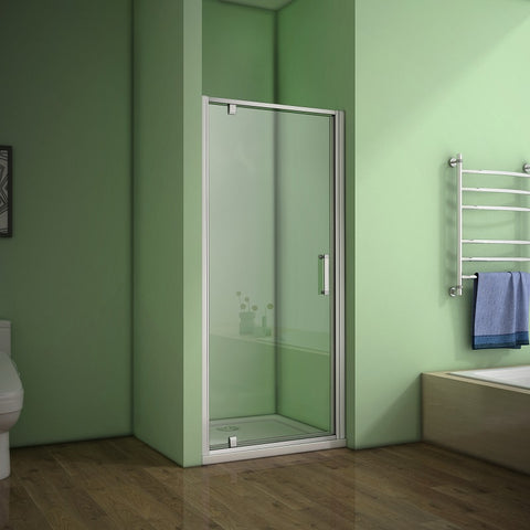 700-1000mmx1850 Pivot Hinge Shower Door Enclosure,Shower Tray Optional