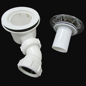 90MM Fast flow waste trap For Shower Enclosure tray