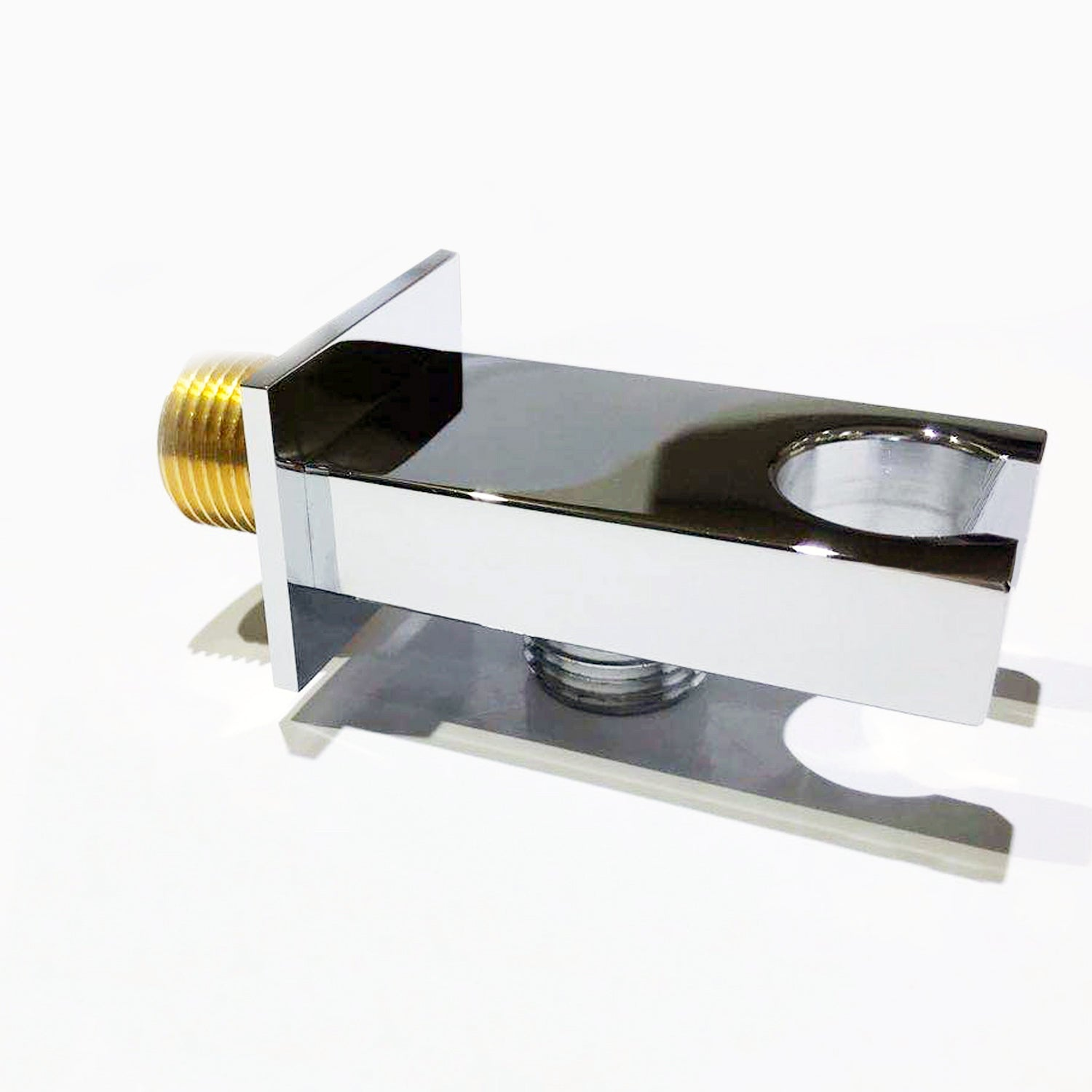 AICA BRASS Shower Wall Outlet Elbow Square