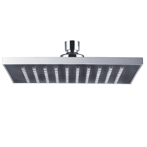 "AICA 8"" Overhead Shower Head Square Chrome Finish"