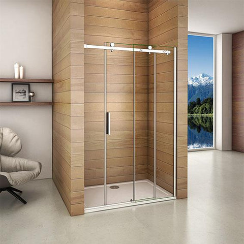 1000-1400mmx1950mm Height Shower sliding door 6mm Glass