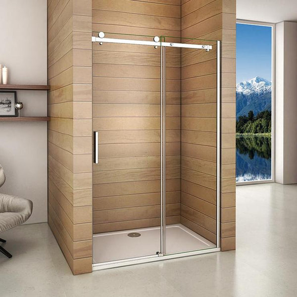 100cm | 110cm | 120cm | 140cm x 195cm sliding shower door, no tray