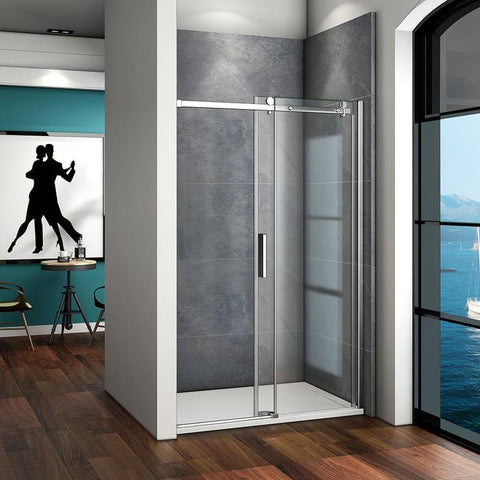 1000mm|1100mm|1200mm|1400mm x 1950mm sliding shower door,no tray