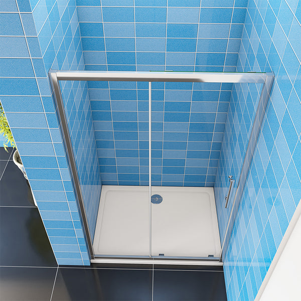 Sliding Shower Door  8mm Nano EASY CLEAN Glass Enclosure Bathroom Cubicle
