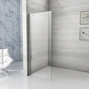 710x1950mm Easyclean Wet Room Shower Enclosure Screen Panel,Tray Optional