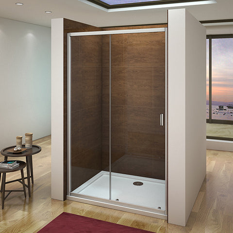 1000-1400x1850mm Sliding Shower Door,Shower Tray Various sizes Optional