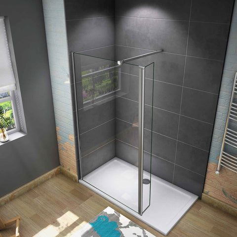 700-1400mm various Sizes Walk in 8mm EasyClean shower screen,300mm pivot Panel