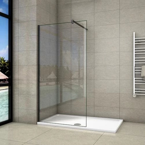 Walk In Shower Screen 8mm Nano Anti-Explosion Tempered Glass