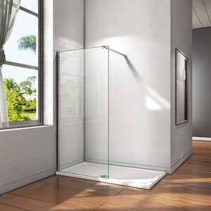 700-1400mm Wet Room Shower screen 8mm NANO glass,1850 1950 2000 Height