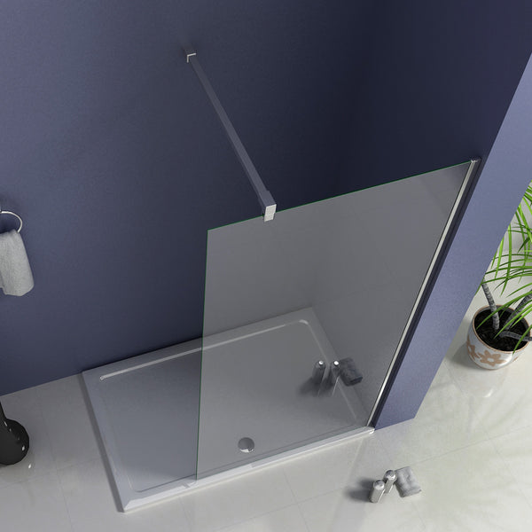 walk in Wet Room Shower screen700-1400x2000mm, 8mm NANO glass