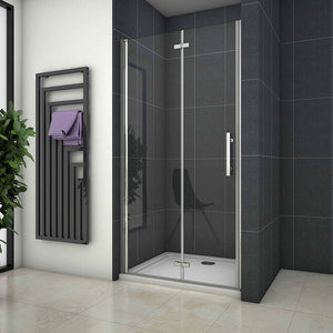 1900mm H Bifold pivot shower door ,tray optional