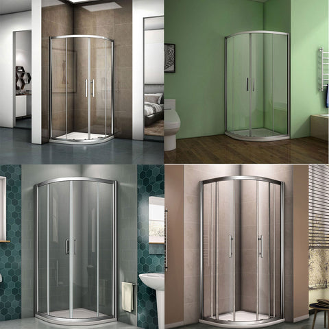 Quadrant  Shower Enclosure frame double sliding door