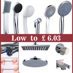 Shower Head And Hose Square Round Overhead,Hand Shower,Hose,Spray gun ect Shower Set