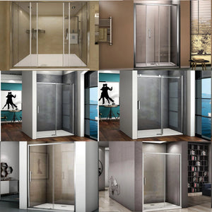 Shower Door Sliding Door 185cm 190cm 195cm Height