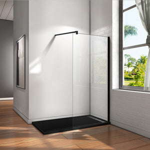 1850/1950/2000 mm Height Walk in Wet Room Shower screen 8mm EasyClean Glass