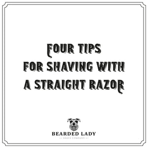 4 Tips for Shaving with a Straight Razor