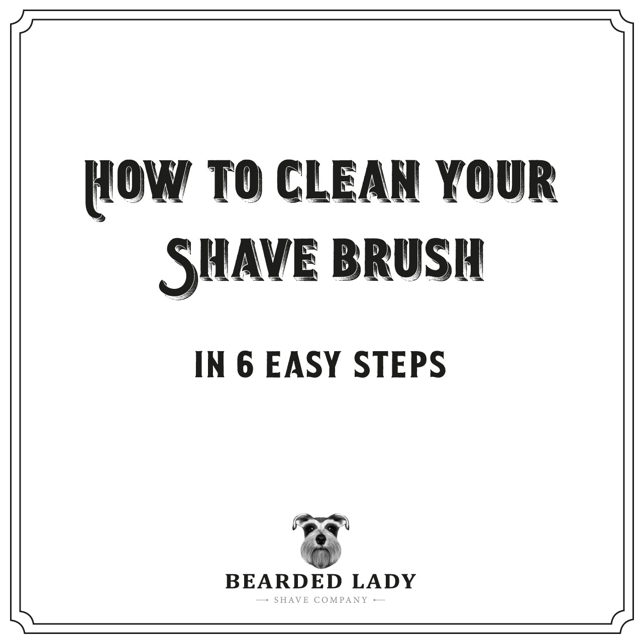 How to Clean Your Shave Brush in 6 Easy Steps