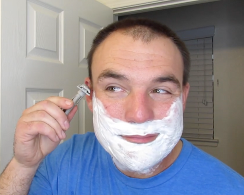 Learn how to shave against the grain without causing razor burn