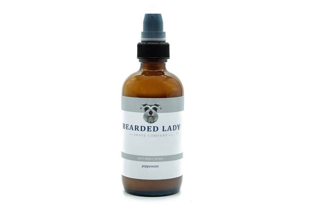 Post Shave Serum: Peppermint