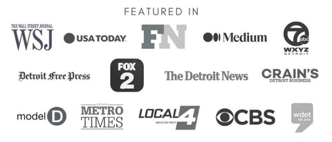 Featured news pieces in Wall Street Journal, USA Today, Detroit Free Press, CBS, and more