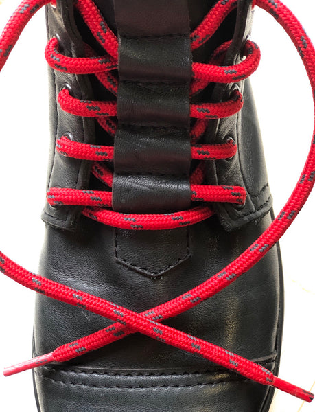"USA Made Carbon Fiber ""Honey Badger"" Laces:  (48 inch)"