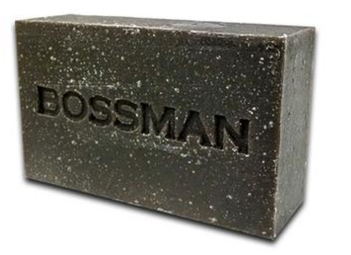 Bossman® Shampoo Beard Hair & Body Bar Soap