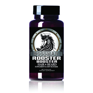 Rooster Booster Beard & Hair Supplement