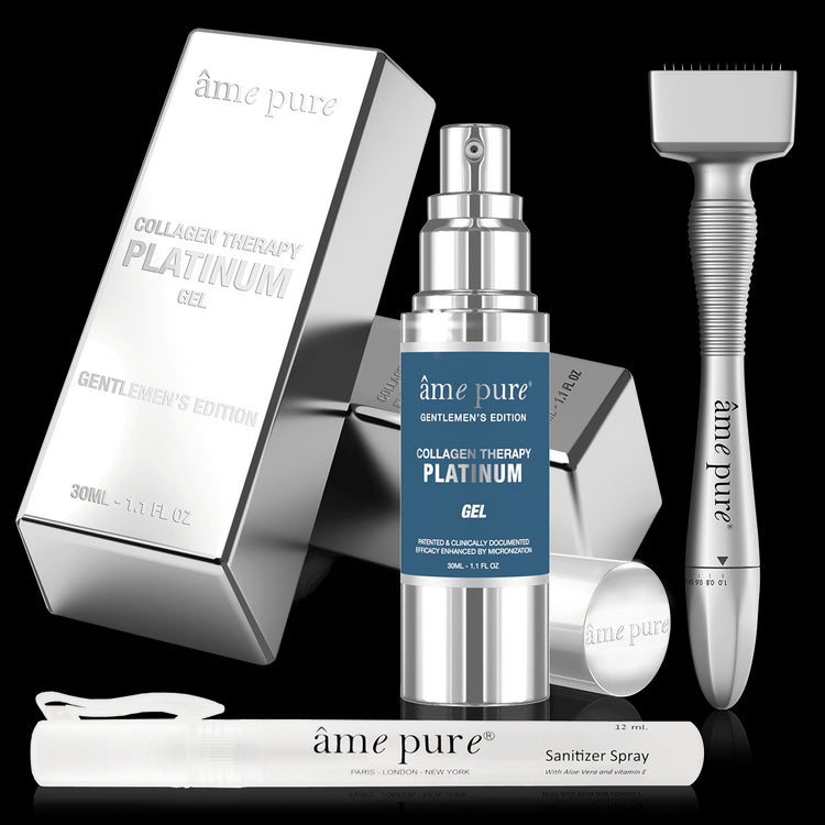 Adjustable Derma Stamp PLATINUM GENTLEMEN KIT