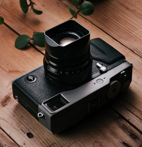 Squarehood for Fujinon XF 23mm f2 / XF 35mm f2
