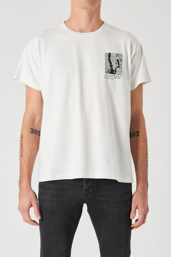 Limited Band Tee - Vintage White