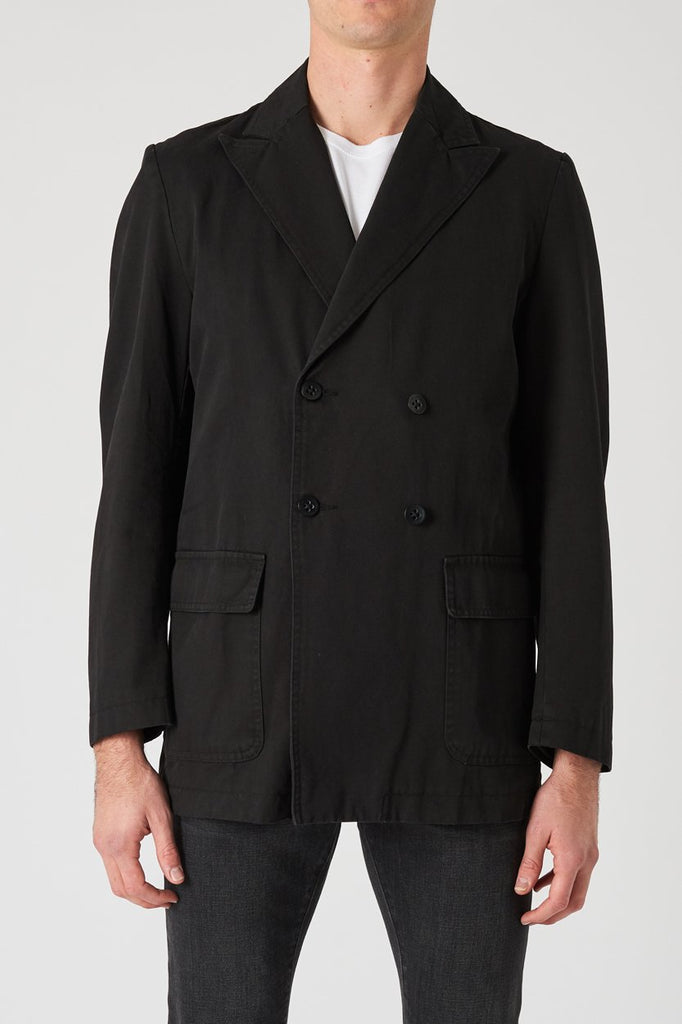 Double Breasted Jacket - Black