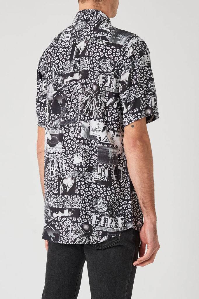 Sheilds SS Shirt - Mash Up Black