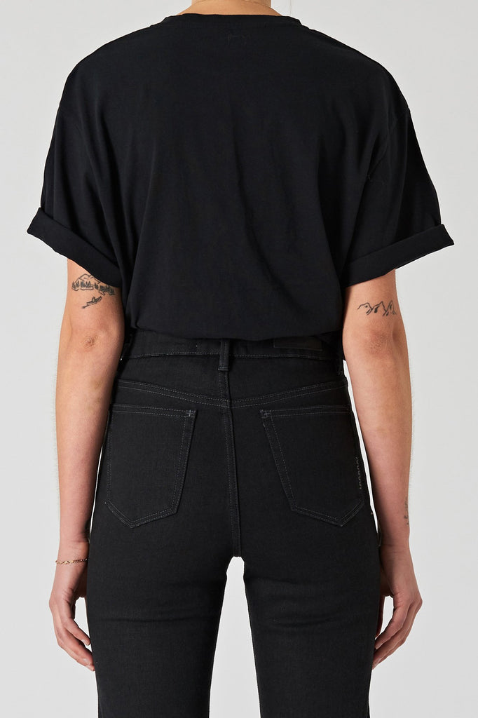 Neuw Rave Tee - Washed Black