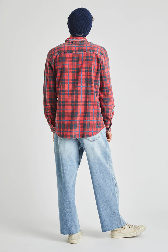Tradie Shirt - Red Check