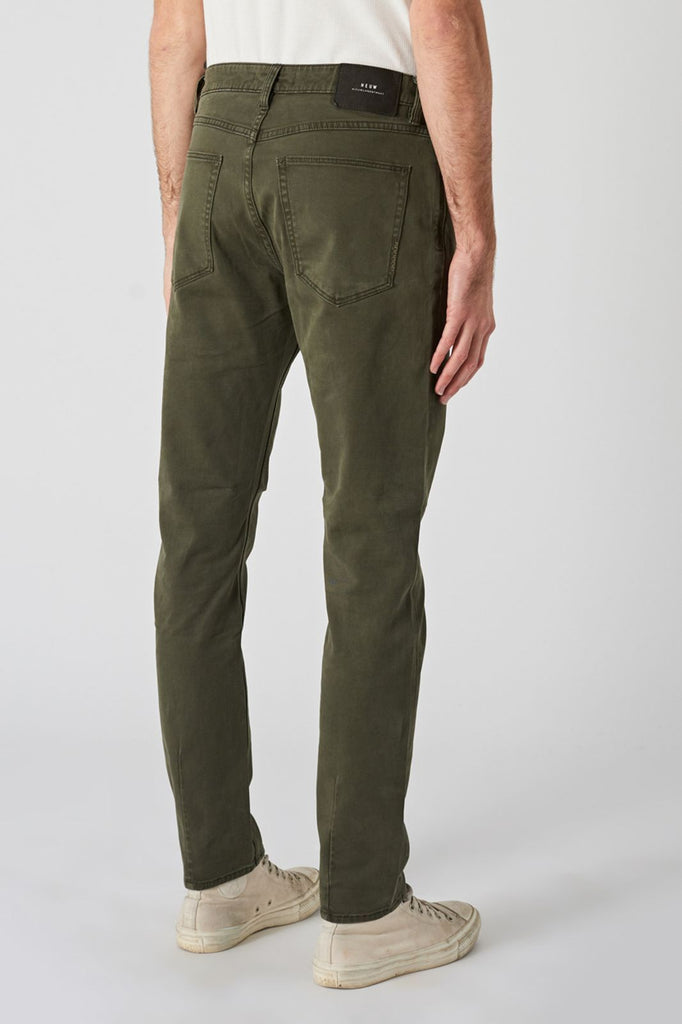 Lou Slim Twill - Military