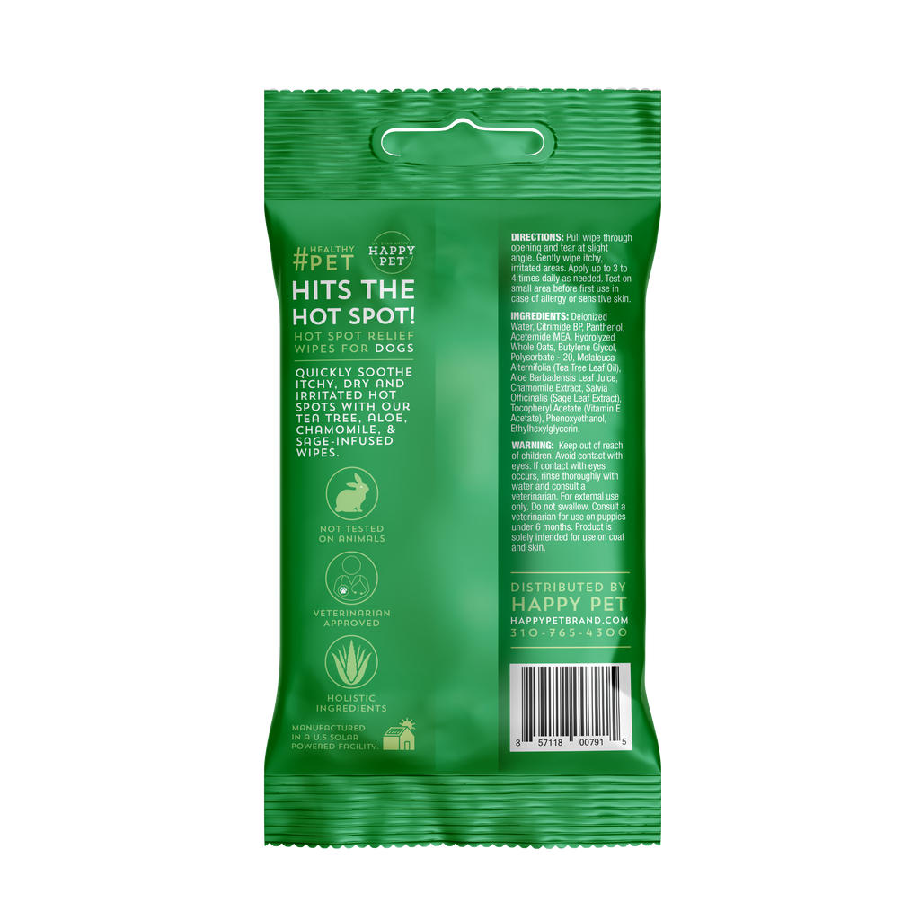 Hits the (Hot) Spot! Relief Wipes