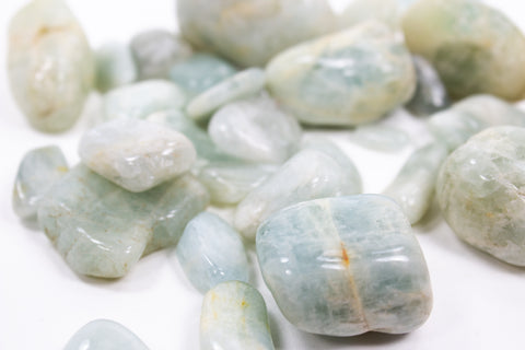 Aquamarine - Tumbled Crystals