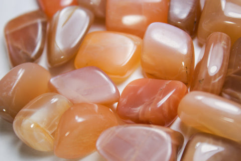 Peach Moonstone - Tumbled