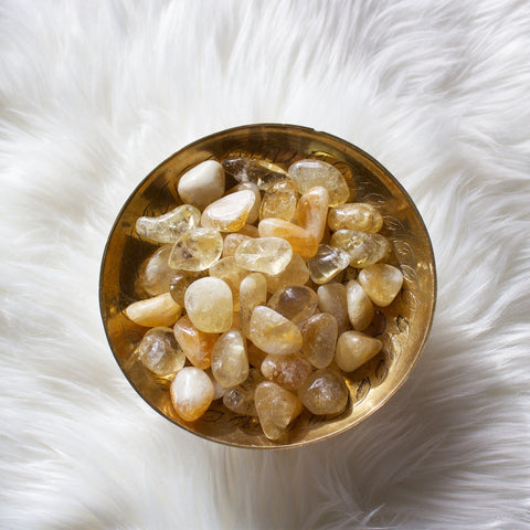 Citrine Tumbled Crystals