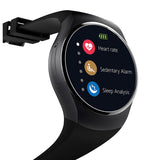 Smartch KW18 Smart Watch SIM TF MTK2502 Heart Rate Smartwatch Touch Screen bluetooth Wristwatch for apple android IOS phone