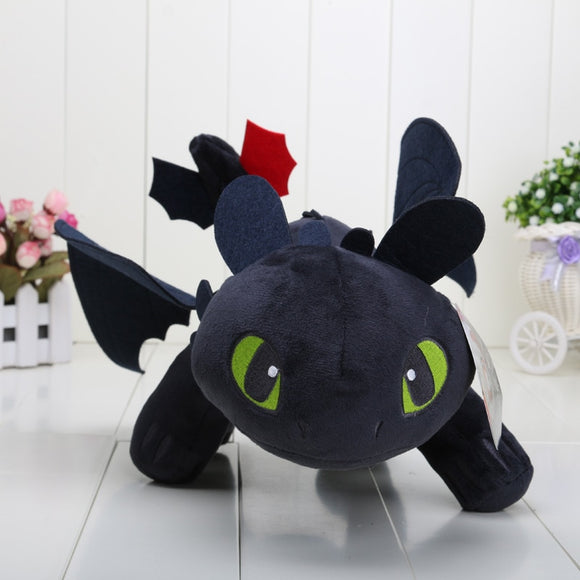 Big Size 40 cm How to Train Your Dragon Toothless Night Fury Stuffed Plush Toy
