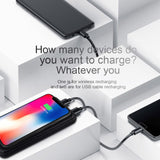Fdgao Wireless Charger Power Bank 20000mAh For iPhone XS Max X 8 Plus Samsung S8 S9 Note 9 Xiaomi Qi Wireless Fast Charging Pad