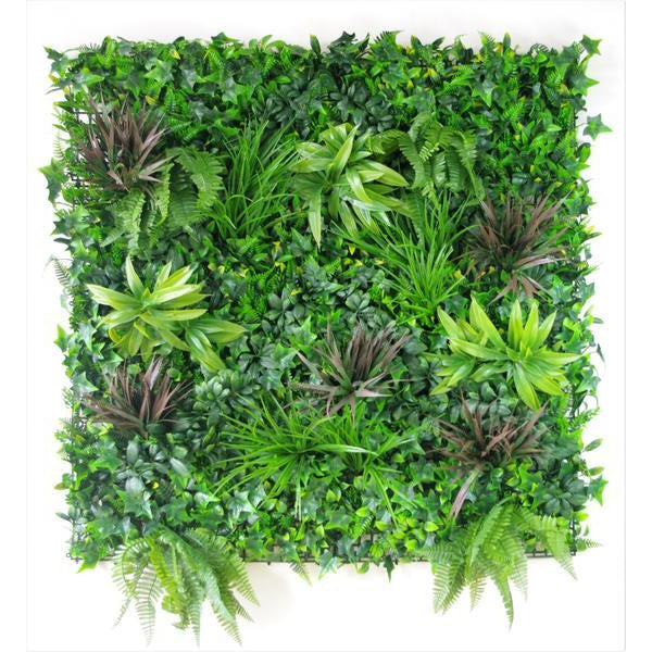 Coastal Greenery Vertical Garden / Green Wall UV Resistant 100cm x 100cm