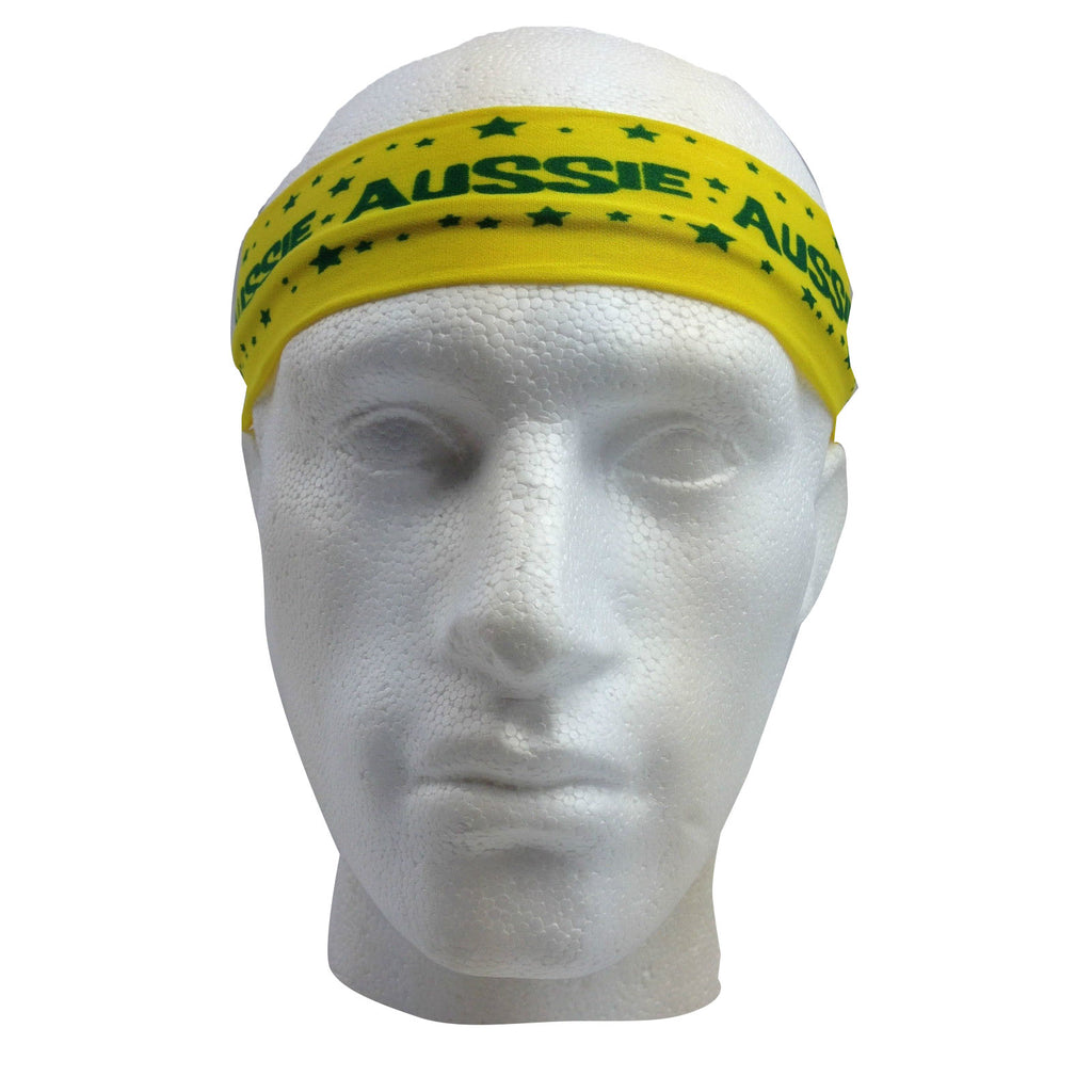 Aussie Flag Australia HEADBAND For Tennis Cricket Australia Day Costume Oz