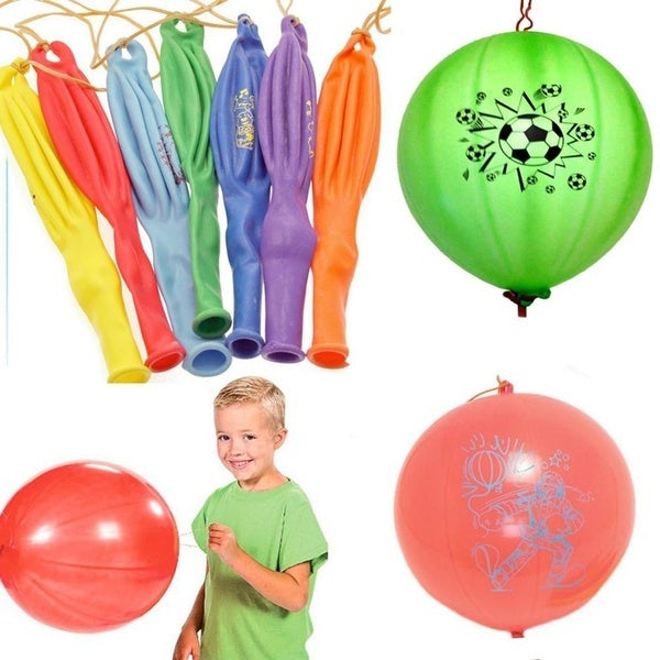 3pcs PUNCH BALLOONS Balloon Party Bag Fillers Pinata Birthday Inflatable