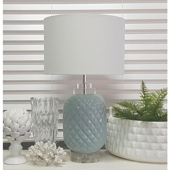 Island Turquoise Table Lamp