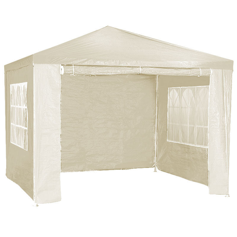 3x3m Wallaroo Outdoor Party Wedding Event Gazebo Tent - Beige