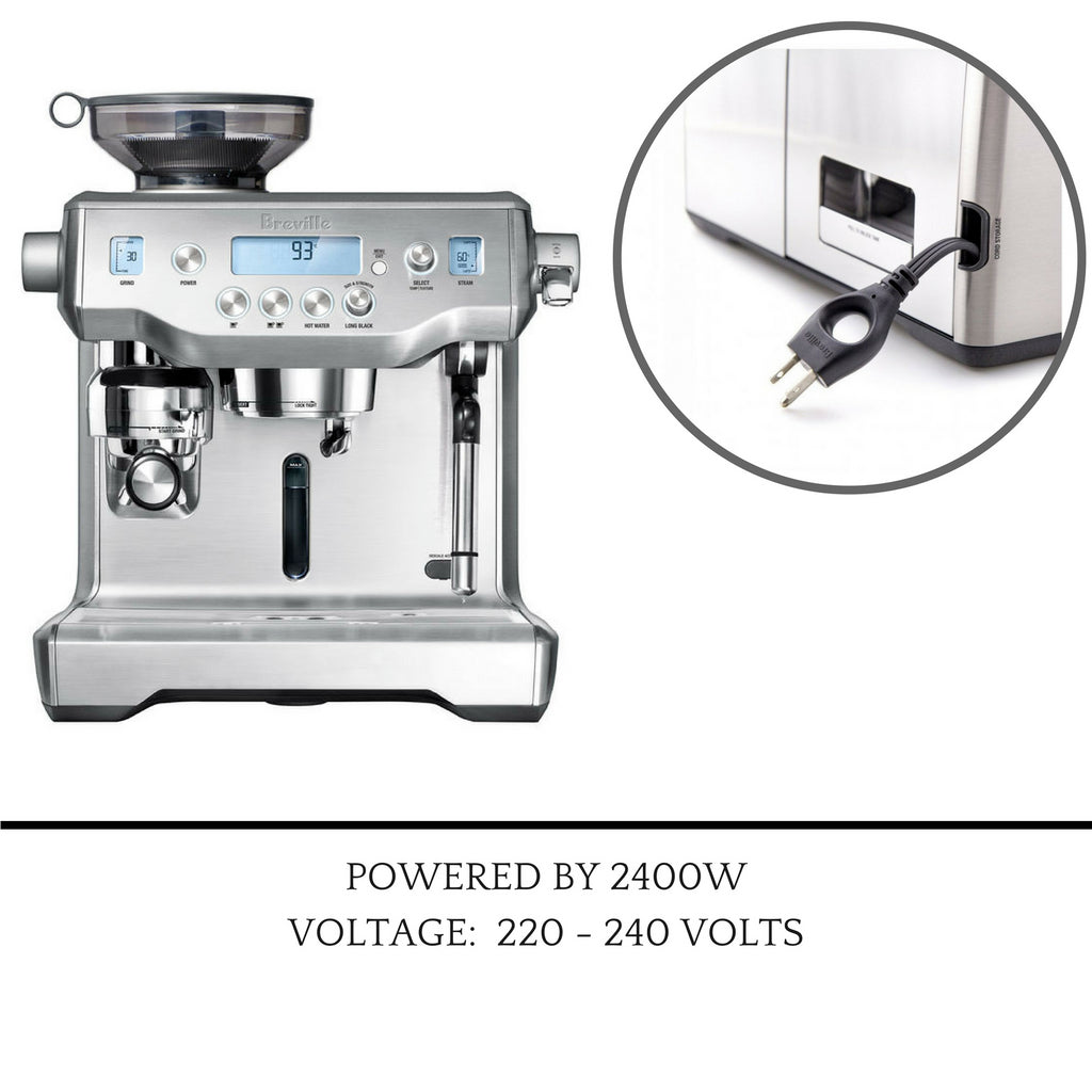 Breville BES990BSS Oracle Touch Coffee Machine Automatic Maker Latte / Espresso