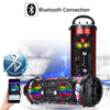 A28 Portable bluetooth Super Bass Speaker Phone Holder TF FM AUX-in Outdoor Handsfree Headset With Mic Support Smartphone PC