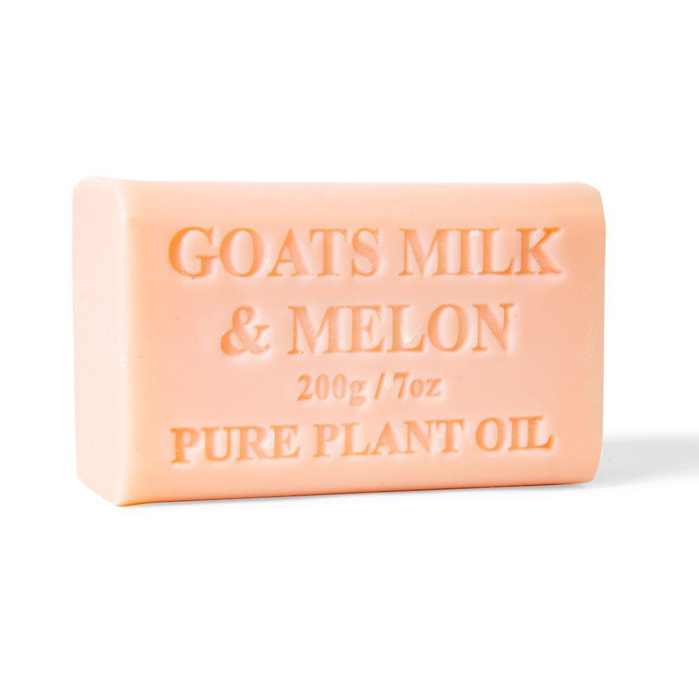 65x 200g Goats Milk Soap And Melon Goat Bar Skin Care Pure Natural Australian